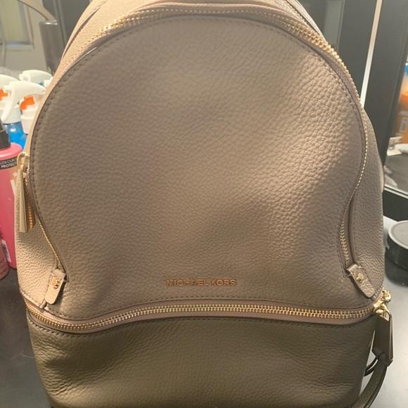 michael kors bags rhea backpack poshmark rh poshmark com